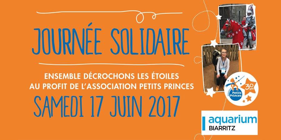L'Aquarium de Biarritz soutient l'association Petits Princes
