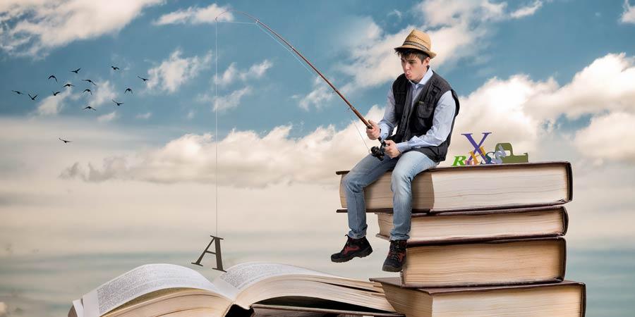 1ère pêche aux livres à Biarritz